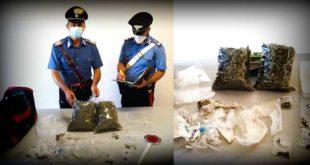 Montesilvano, nascondeva in casa più di un Kg di marijuana, arrestato dai carabinieri