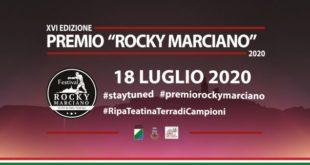 Ripa Teatina, tutto pronto per la XVI edizione del Premio Rocky Marciano