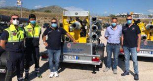 Una Pompa idrovora donata dalla Regione Abruzzo alla Protezione civile di Montesilvano