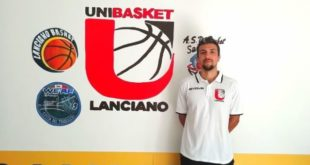 Giandomenico Ucci è un nuovo giocatore dell'Unibasket Lanciano
