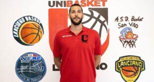 Nikola Munjic è un nuovo giocatore dell'Unibasket Lanciano