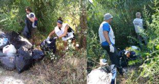"""""""Giornata ecologica"""" nel tratto terminale del fiume Foro:WWF e cittadini insieme per raccogliere rifiuti"""