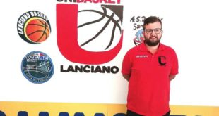 Antonio Iarlori confermato nello staff tecnico dell'Unibasket Lanciano