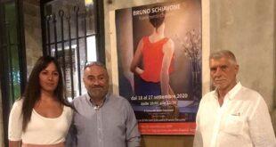 "Vernissage di Schiavone a Città Sant'Angelo, ""FRAMMENTI D'ISTANTI"""