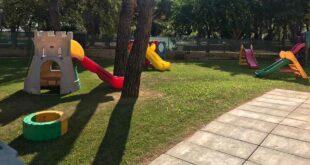Un nuovo giardino per la Scuola dell'Infanzia di via Mattarella