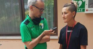Michela Di Lodovico: 'Il Chieti ha fatto la storia del calcio femminile in Abruzzo: felicissima di essere qui'