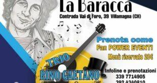 Villamagna, una serata in compagnia della musica italiana con i Rino Gaetano & Friends