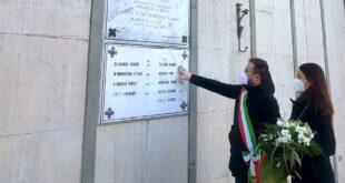 Commemorazione per i 16 cittadini giuliesi morti nei campi di prigionia tedeschi