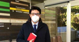Penne, Ospedale San Massimo: visita ispettiva del Consigliere Blasioli (PD)