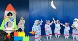 La scuola dell'Infanzia di Isola del Gran Sasso punta all'orbita lunare