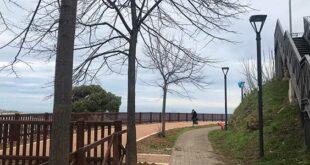 Montesilvano, ultimato il consolidamento della passeggiata al colle