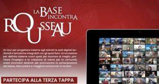 """FA TAPPA IN ABRUZZO IL TOUR """"LA BASE INCONTRA ROUSSEAU"""""""
