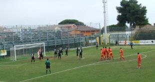 Real Giulianova – Aprilia 0-1, al Fadini decide una punizione di Oliveira VIDEO