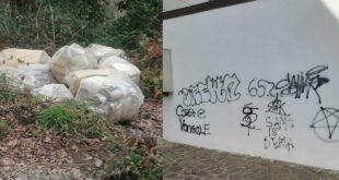 Manoppello, rintracciati i responsabili dell'abbandono dei rifiuti e degli atti vandalici a scuola