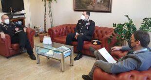 Teramo, incontro tra il Sindaco e il Generale dei Carabinieri Cerrina per la Cittadinanza Onoraria al Milite Ignoto