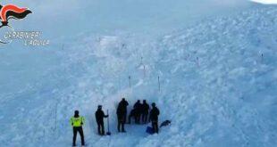 Dispersi sul monte Velino: ritrovati i corpi dei 4 escursionisti