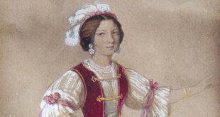 Giulianova, nella sala consiliare ritratto del Morani di Alexandrina Obreskov Acquaviva d'Aragona