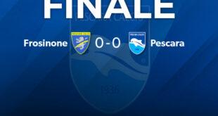 Serie B, Frosinone – Pescara 0-0