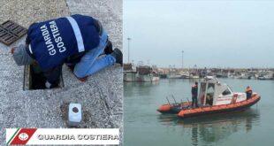 Controlli e sanzioni della Guardia Costiera di Giulianova a tutela della sicurezza della navigazione e dell'ambiente