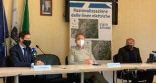 Linee elettriche a San Giovanni Teatino: smantellati quasi 2 km di linea aerea, demoliti 9 tralicci