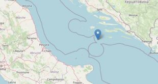Scossa di terremoto nel mare Adriatico: avvertita in Abruzzo