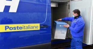Poste Italiane, 1500 dosi di Astrazeneca in arrivo all'Ospedale Santo Spirito di Pescara