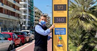 A Pescara totem e  display  per il monitoraggio delle piste ciclabili