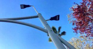 Pescara, nuove luci a led sui pali della filovia: i dubbi dei Greenway