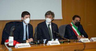 Visita del ministro della Salute, Roberto Speranza in Abruzzo
