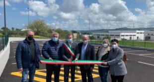 Pianella: inaugurate le nuove urbanizzazioni nell'area industriale di Cerratina