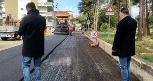 Montesilvano, prosegue il piano asfalti