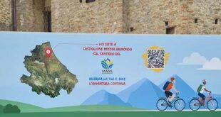 Turismo lento, a Castiglione Messer Raimondo la stazione di ricarica per e-Bike