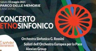 Concerto Etnosinfonico al Parco delle Memorie di Lanciano