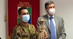 Covid 19: Marsilio, Dal Commissario Figliuolo garanzie su fornitura vaccini e attenzione per popolazioni aree interne