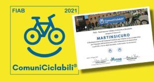 Per il terzo anno consecutivo Martinsicuro conferma la Bandiera Gialla di ComuneCiclabile FIAB