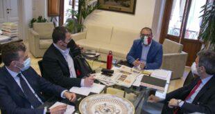 Sisma e ricostruzione: Marsilio incontra Carlo Presenti, nuovo responsabile della Struttura di missione