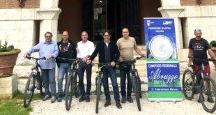 Firmato protocollo d'intesa  tra la Federciclismo Abruzzo e l'ente Parco Naturale Regionale Sirente Velino