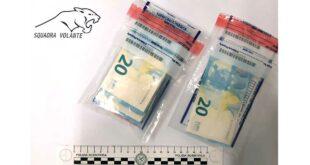 Pescara, spendono al bar banconote false da 20 euro, denunciati dalla P.S.
