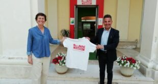 Francavilla, visita dell'imprenditrice Federica Chiaravoli a L'Abruzzo in Miniatura