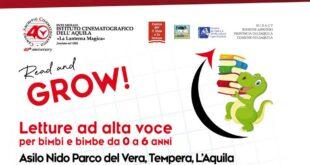 Read and Grow! Letture ad alta voce all'Asilo Nido Parco del Vera