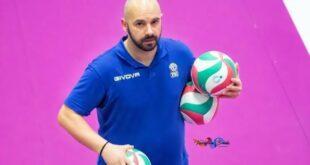 Il nuovo allenatore della Pallavolo Teatina: Cristian Piazzese