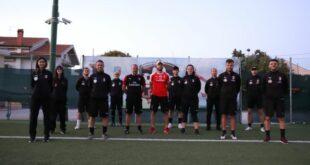Gladius Pescara e Asd Union Fossacesia Calcio: una giornata insieme a mister Fabio Vannoni